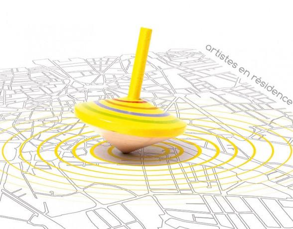 Affiche réalisée par A4 designers pour l'expositon urbaine art et design 21000